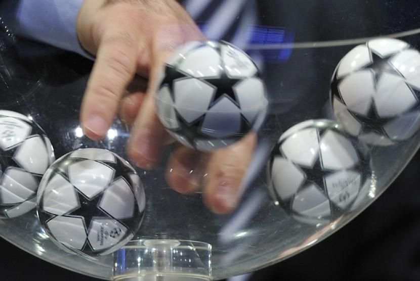 Drawing Liga Champions (ilustrasi)