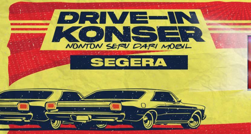 Drive-In Konser Pertama di Indonesia Digelar Agustus