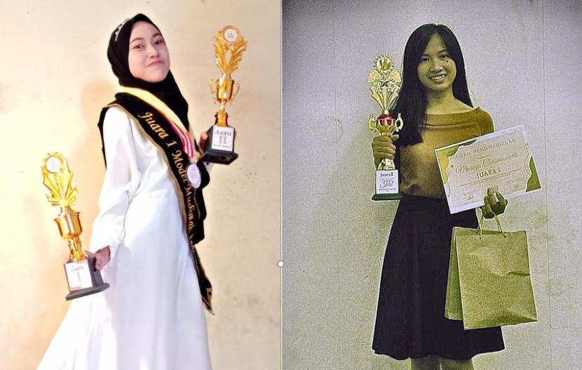 Dua mahasiswi semester 4 dan 6 kampus Universitas BSI (Bina Sarana Informatika) Kampus Pontianak, Marinja dan Juniarti mendapatkan prestasi di bidang entertain.
