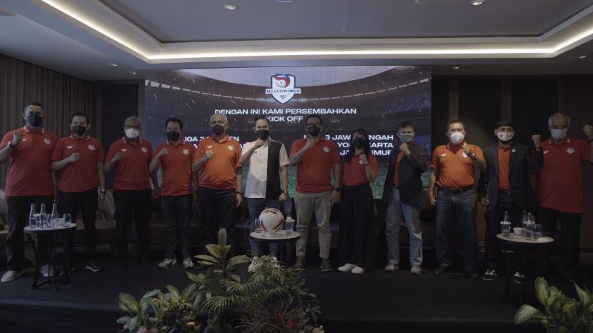 Dukungan sponsor untuk Liga 3.