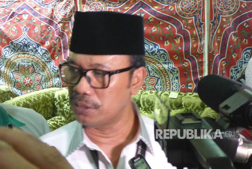 Duta Besar Indonesia untuk Kerajaan Arab Saudi Agus Maftuh Abegebriel.