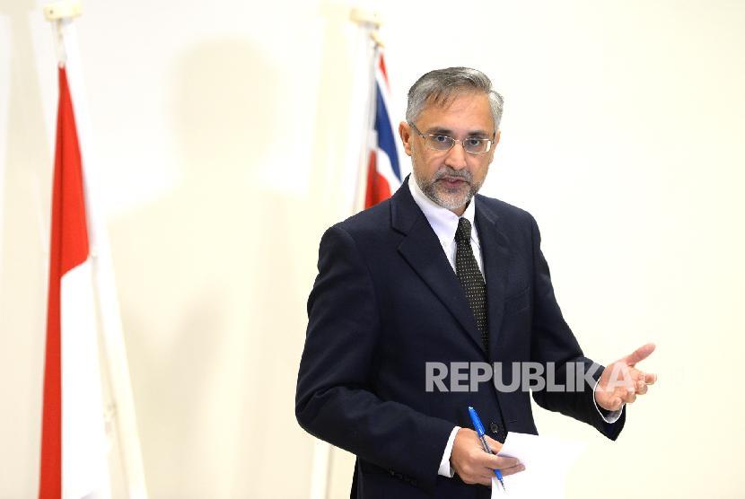 Duta Besar Inggris untuk Indonesia Moazzam Malik.
