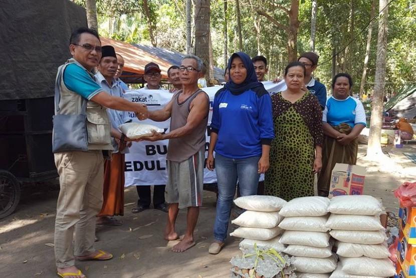 Dyah, pahlawan dari gempa Lombok, Nusa Tenggara Barat (NTB).