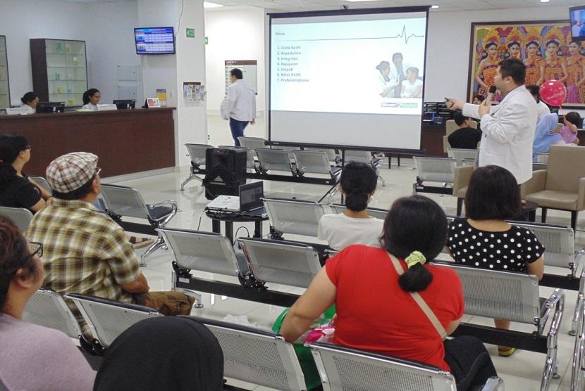 Edukasi terkait stunting dan gizi buruk turut disosialisasikan RS Siloam Bogor kepada masyarakat.