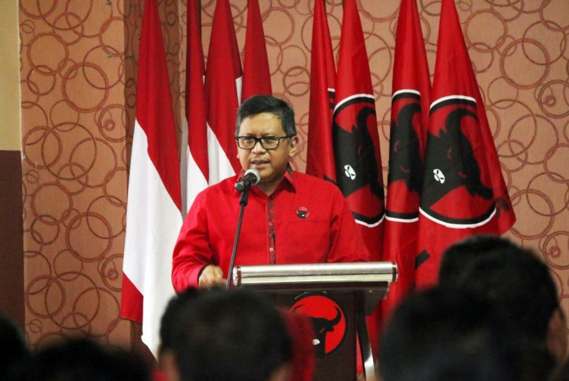 ekretaris Jenderal DPP PDI Perjuangan Hasto Kristiyanto
