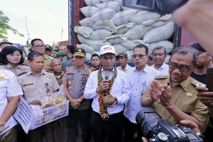 Ekspor pertanian bersama Menteri Amran Sulaiman