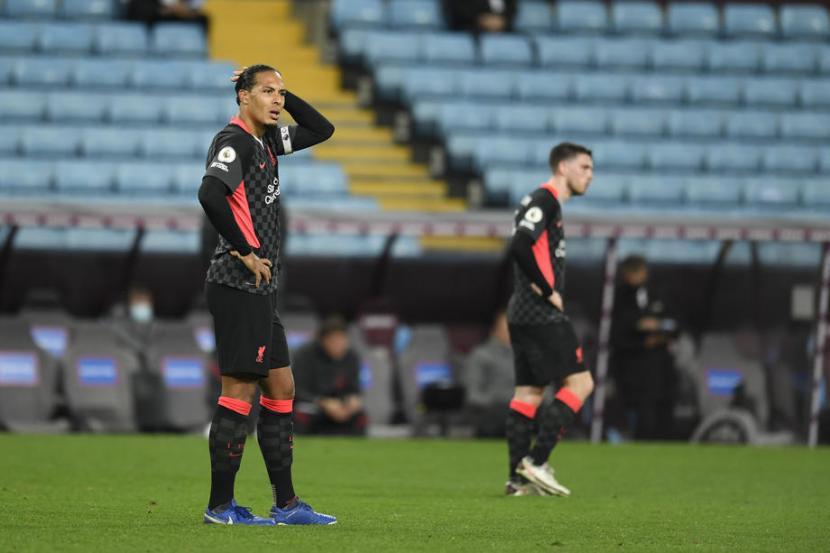 Virgil Van Dijk Akui Kehebatan Aston Villa Republika Online