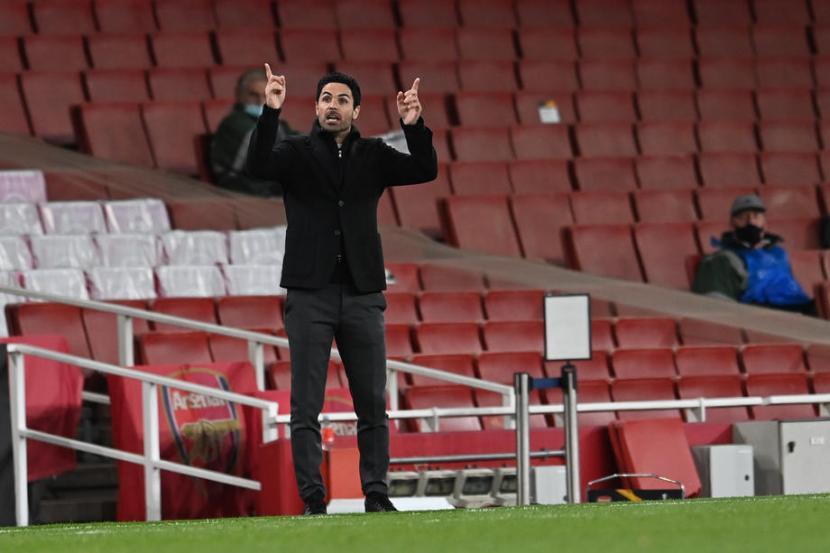 Arteta Akui Performa Arsenal Anjlok 5 Tahun Terakhir