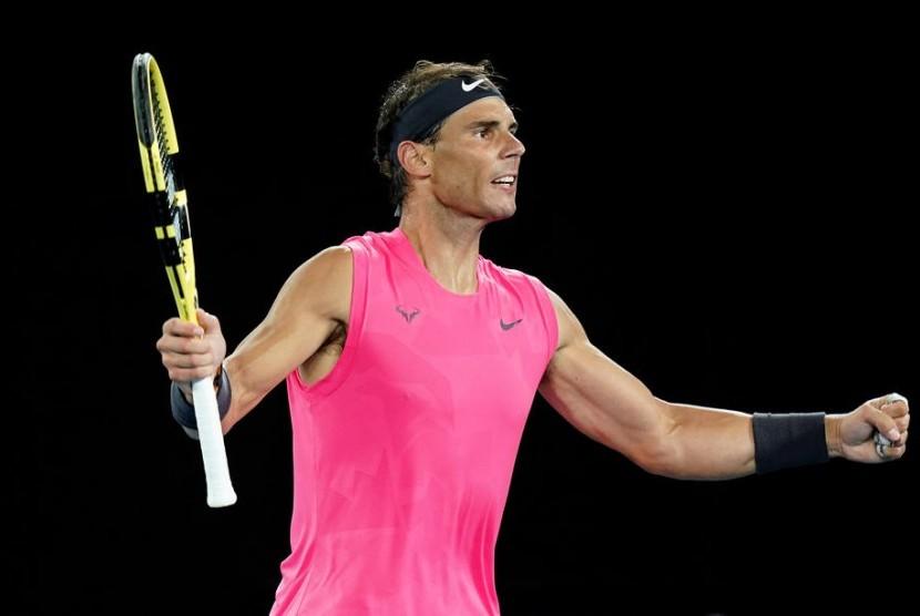 Rafael Nadal Tampung Petenis Muda Republika Online