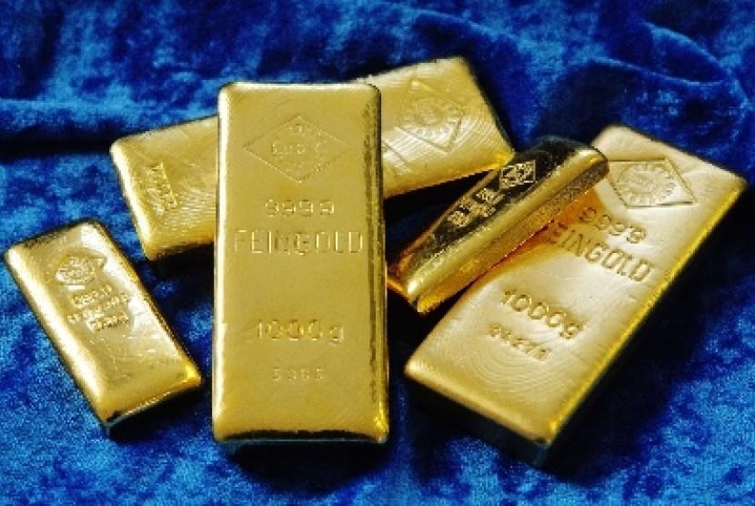 Permintaan Emas Meningkat Di Pasar Global Republika Online