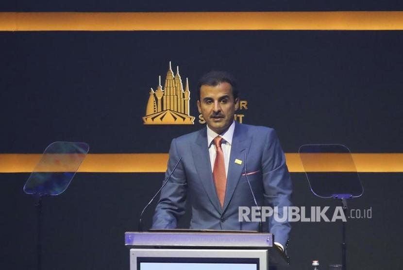 Emir  Qatar Sheikh Tamim Hamad Al Thani.