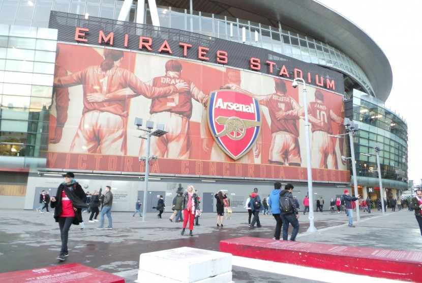 Markas Arsenal, Stadion Emirates, London.