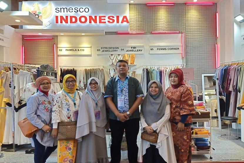 Enam pelaku usaha yang juga UKM binaan Smesco Indonesia. Enam UKM tersebut difasilitas untuk ikut Muffest 2019