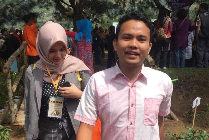eneliti Pusat Studi Bencana Institut Pertanian Bogor (IPB), Pri Menix Dey