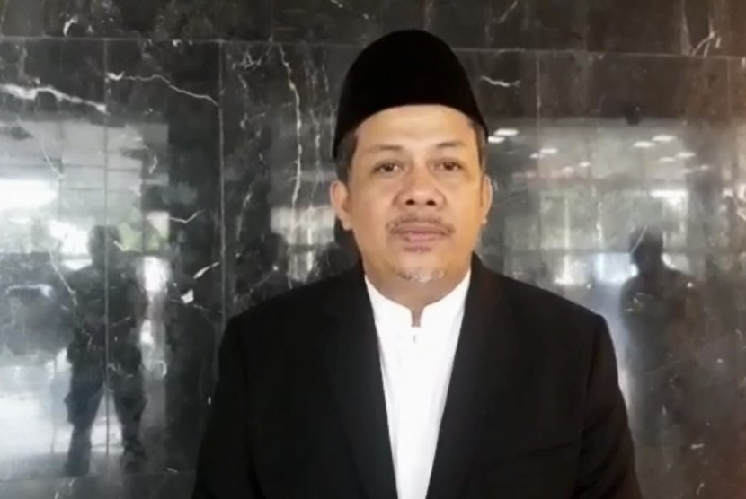 Fahri Hamzah, Wakil ketua DPR Republik Indonesia.