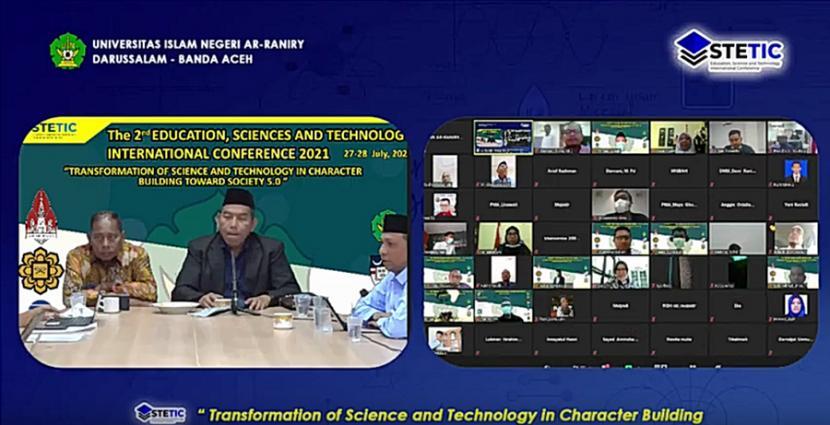 Fakultas Tarbiyah dan Keguruan (FTK) UIN Ar-Raniry menggelar konferensi internasional Education, Sciences & Technology International Conference (ESTETIC) 2021, 27-28 Juli 2021.