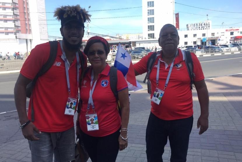 Fan Timnas Panama di Piala Dunia 2018