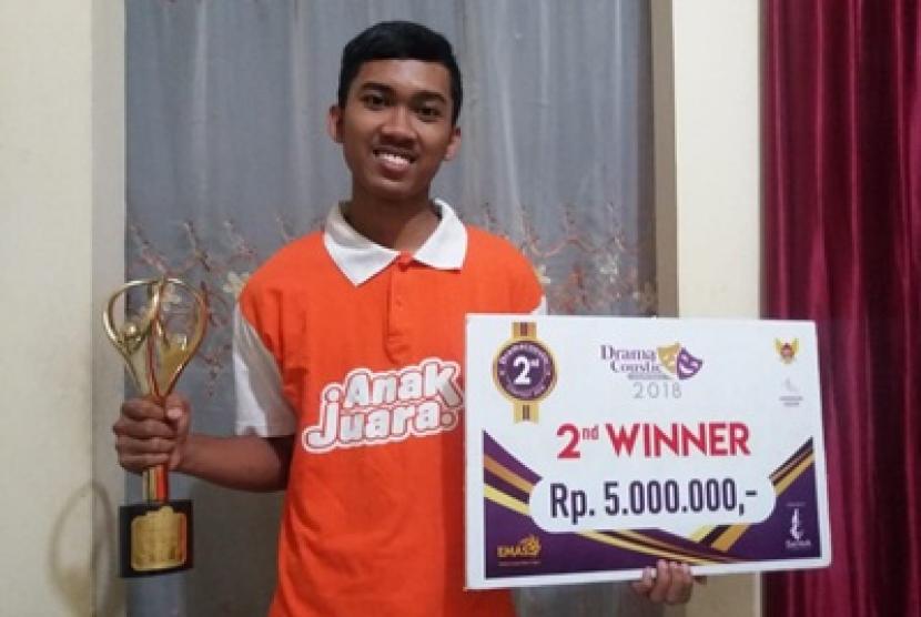 Fani Anak Juara binaan Rumah Zakat.