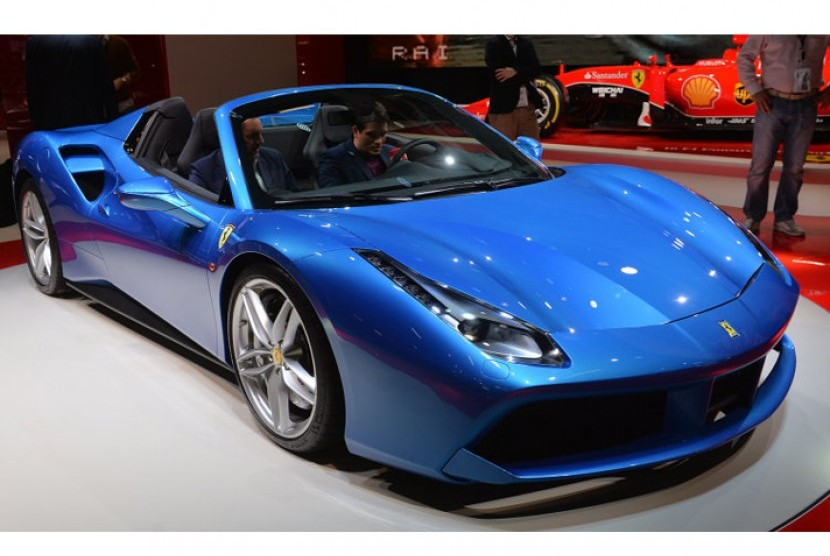 Ferrari 488 Spider Resmi Meluncur Di Indonesia Republika Online