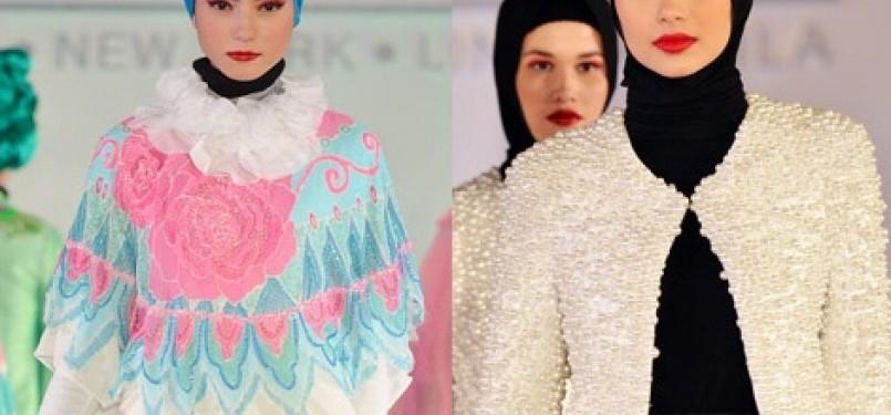Festival Fesyen Islam pertama yang digelar di Manila, Filipina, Rabu (29/2)