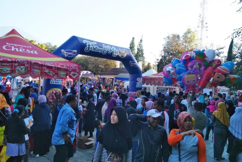 Festival Mi saat digelar di Kuningan, Jawa Barat beberapa waktu lalu