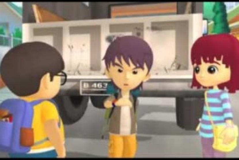 Film animasi Sahabat Pemberani.