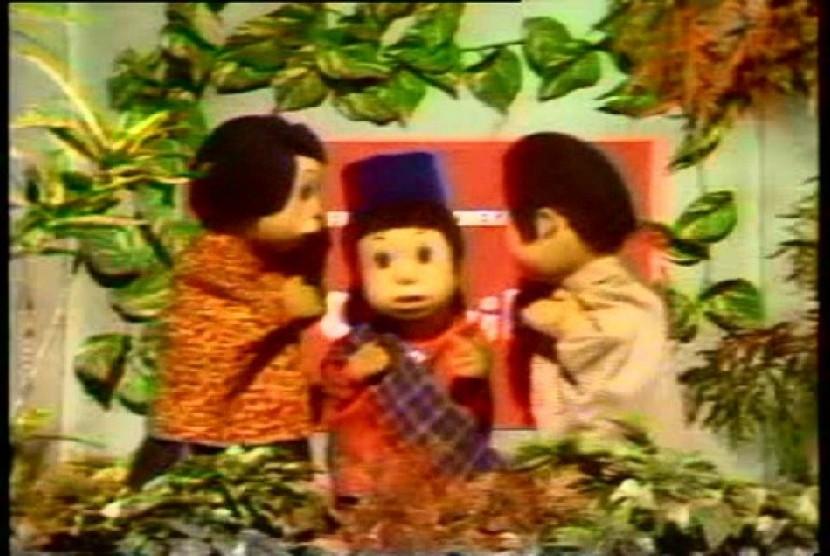 Film boneka si Unyil yang pernah sukses di tahun 80 an saat ditayangkan di TVRI