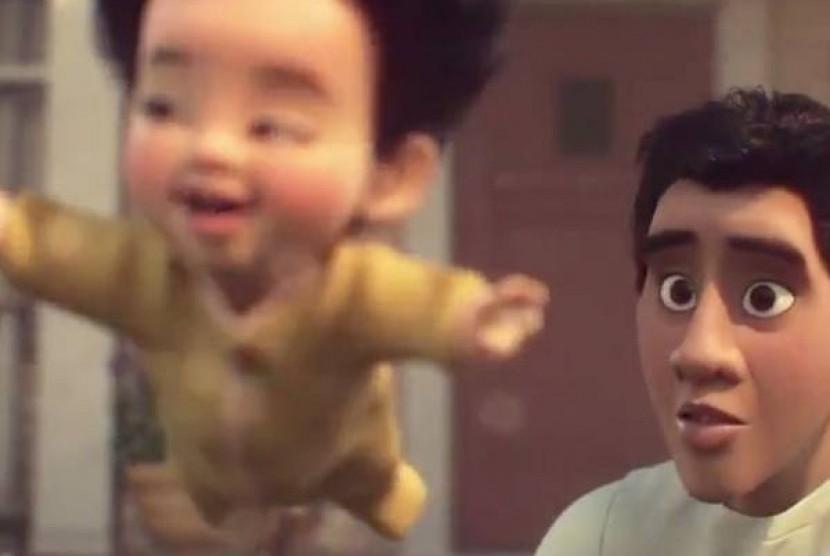 Film Float dari Disney Pixar yang menampilkan tokoh Filipina pertama.