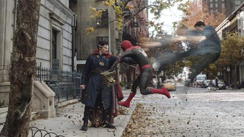 FIlm Spider-Man: No Way Home.