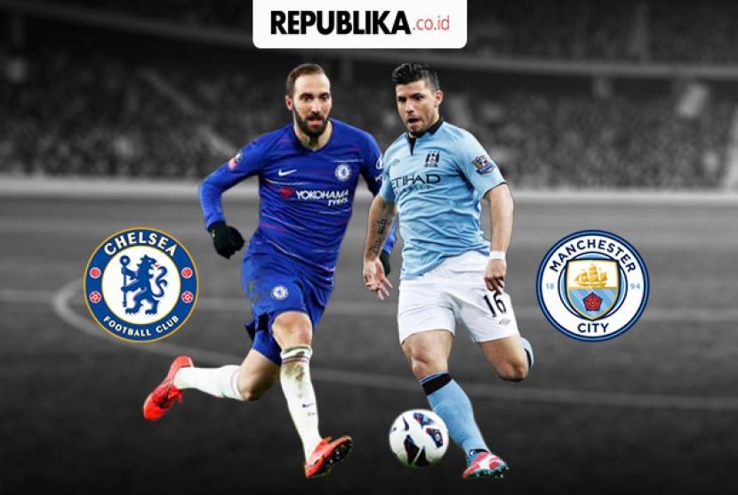 City Vs Chelsea: Babak I Chelsea Vs City Masih Imbang Tanpa Gol
