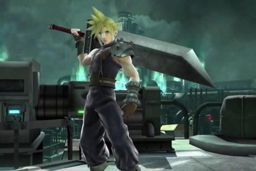 Final Fantasy VII. Ilustrasi