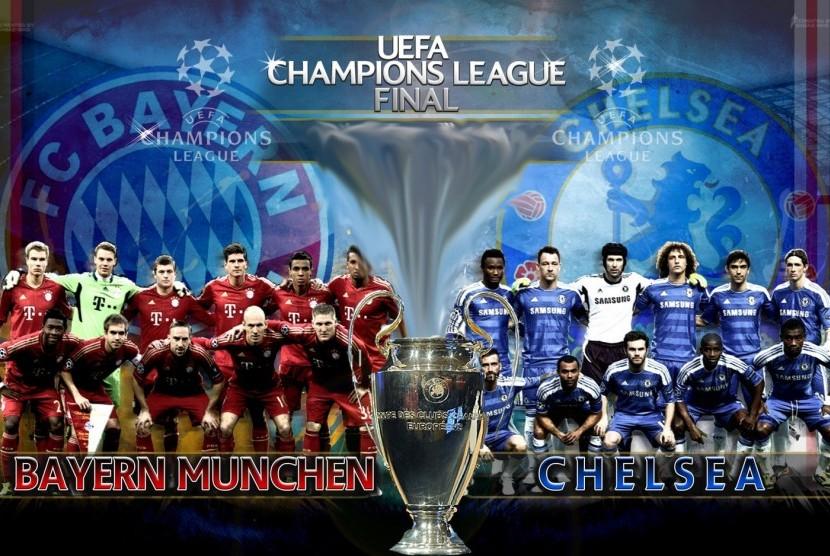 Final Liga Champion, Chelsea vs Bayern Munchen