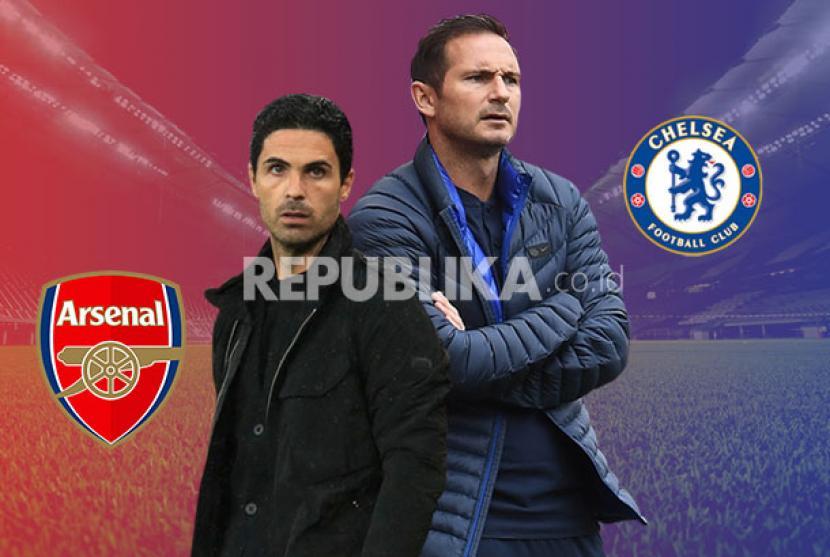 Babak I: Arsenal versus Chelsea Masih Imbang 1-1