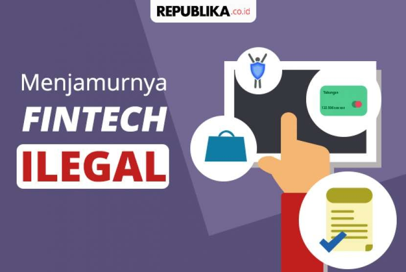 Ojk Server Fintech Ilegal Terbanyak Berada Di As Republika Online