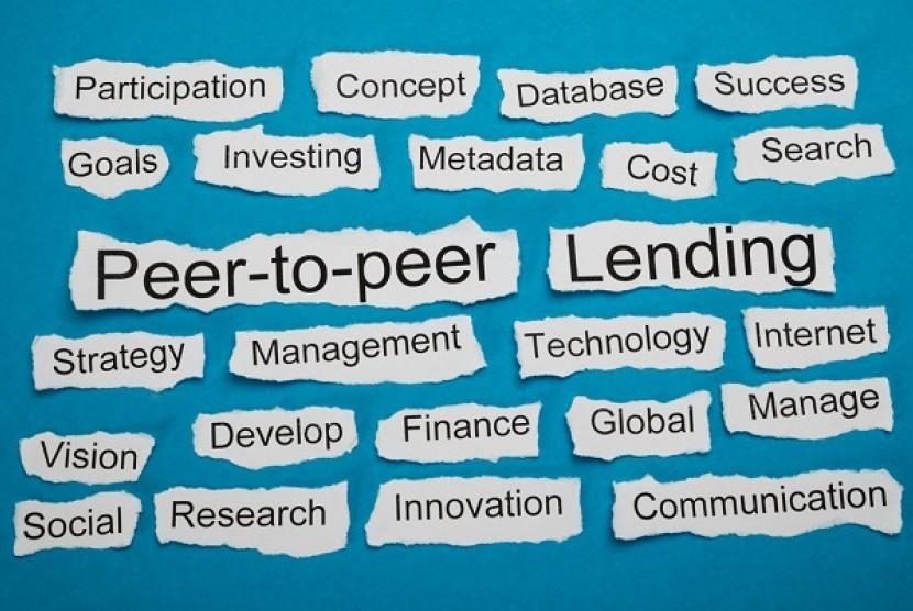 Fintech Lending. Ilustrasi