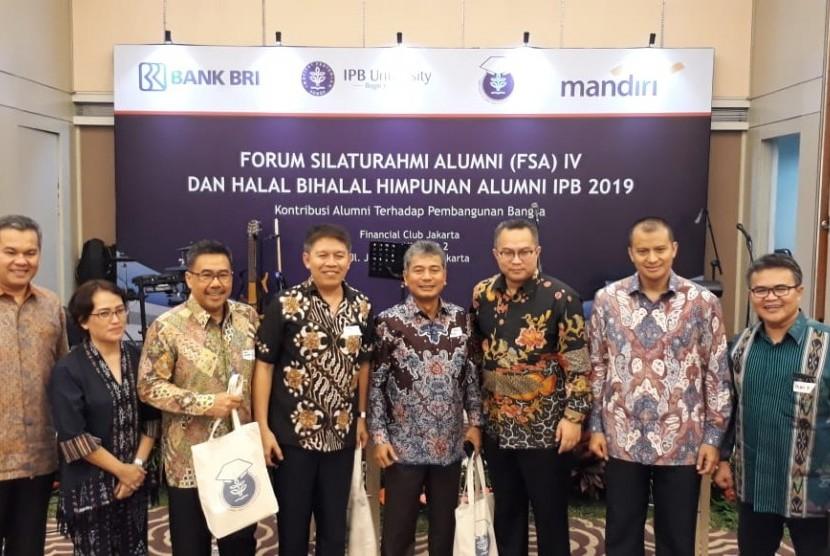 Forum Silaturahmi Alumni (FSA) IV dan Halal Bihalal  DPP Himpunan Alumni (HA) IPB di Jakarta, Jumat (19/7).