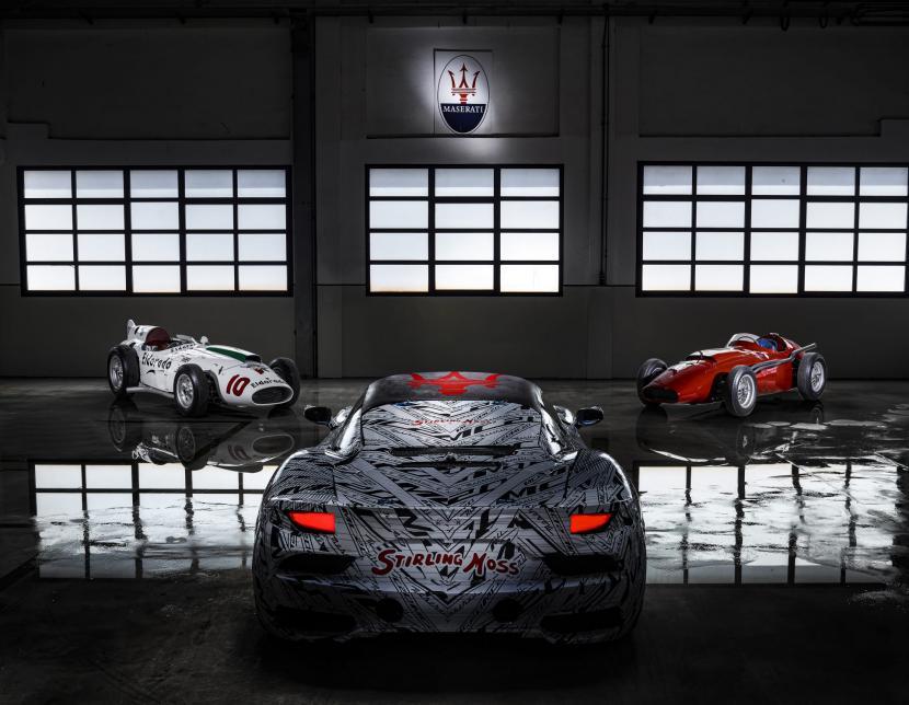 (Foto: Maserati MC20 prototipe)