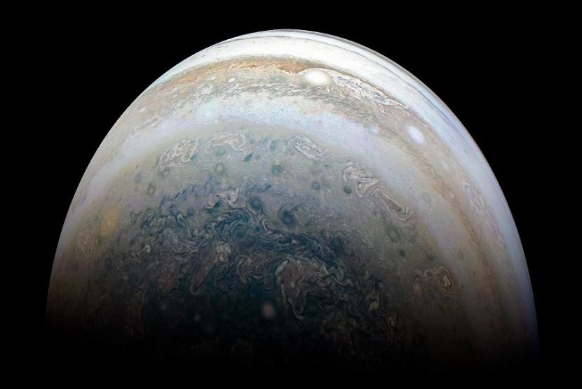 Foto Planet Jupiter terbaru yang diambil NASA
