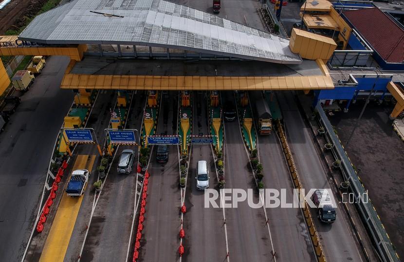 Kakorlantas Tinjau Gerbang Tol Cileunyi untuk Sekat Pemudik (ilustrasi).