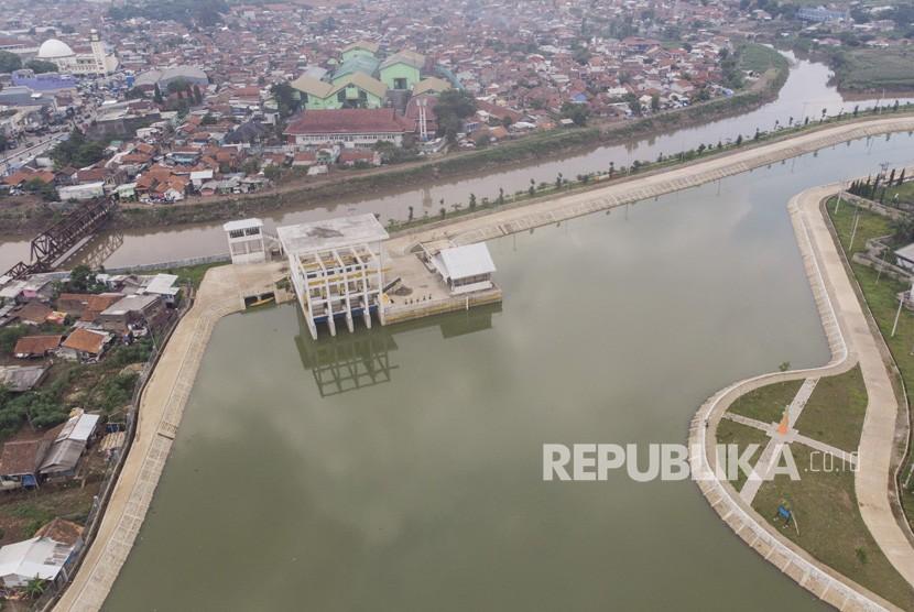 Kolam Retensi Cieunteung Agar Banjir Cepat Surut Republika Online