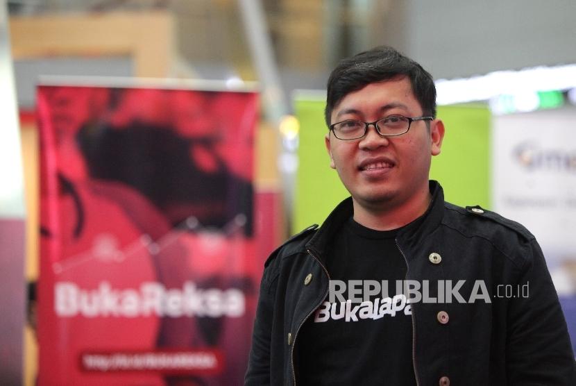 Founder & CEO Bukalapak Achmad Zaky