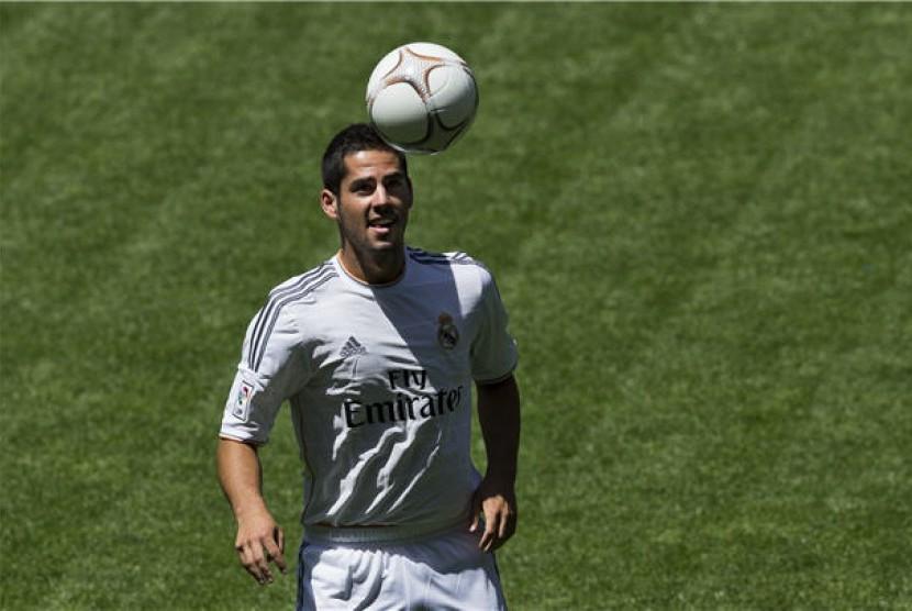 Gelandang Real Madrid, Francisco Roman Alarcon alias Isco.