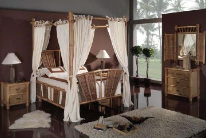 Furnitur asal Indonesia. Ilustrasi