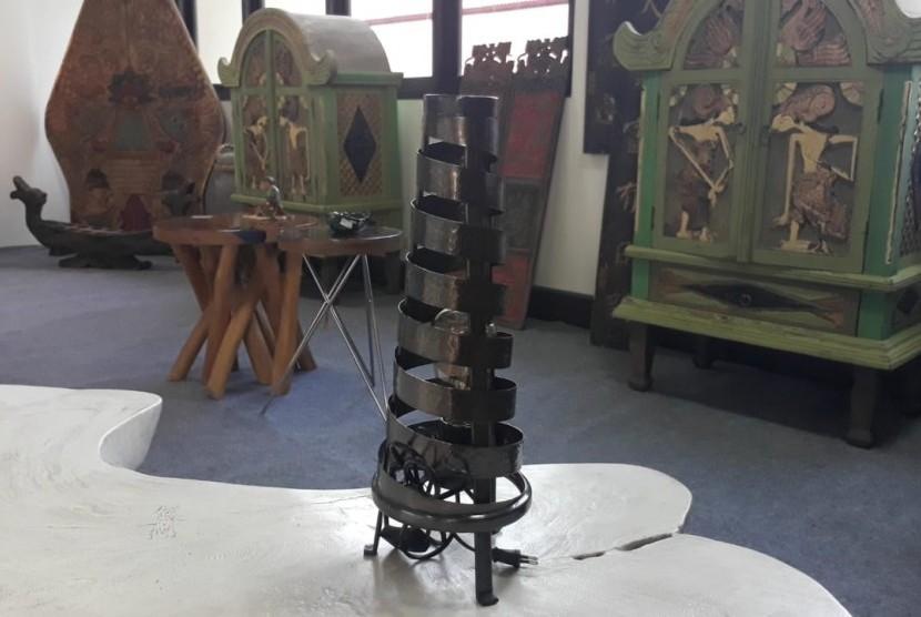 Galeri Upakarti yang ada di Dinas Perindustrian dan Perdagangan (Disperindag) Kabupaten Sleman, Senin (4/6).  Galeri Upakarti merupakan ruang pamer sekaligus rumah kreatifnya UMKM-UMKM yang ada di Kabupaten Sleman.