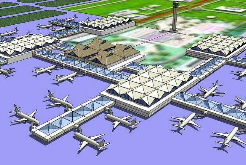 Gambar bandara internasional Kertajati