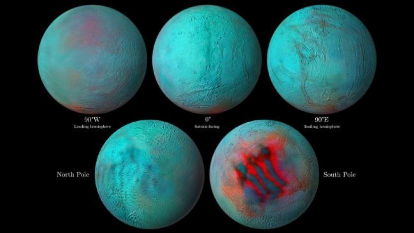 Ilmuwan Temukan Es di Tempat tak Terduga di Encela