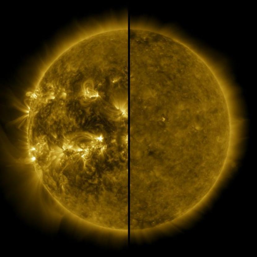 Matahari Masuki Siklus Baru yang Relatif Tenang