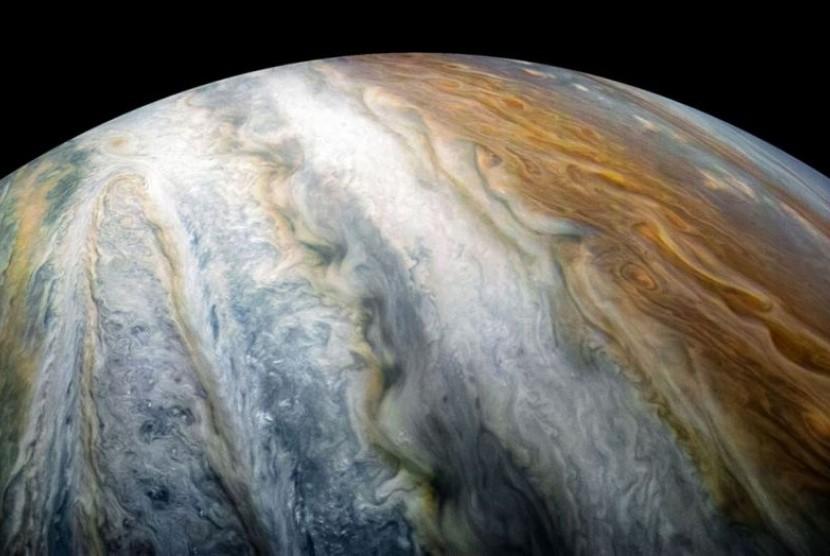 Garis Jupiter. Ilustrasi