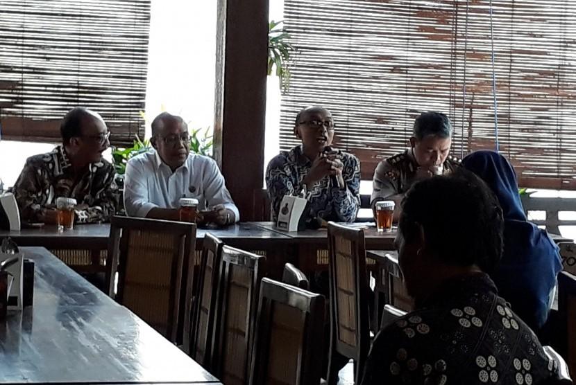 Gathering  Pers, Syawalan, serta Evaluasi Angkutan Lebaran 2018, di Yogyakarta.