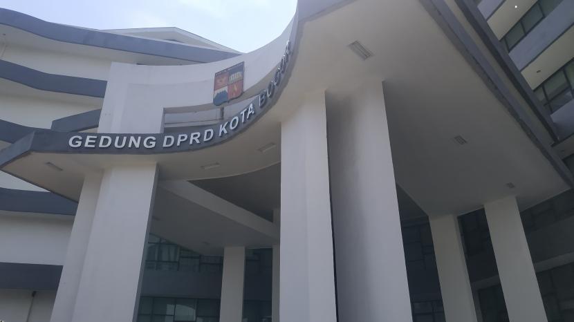 Gedung DPRD Kota Bogor di Jalan Pemuda, Kecamatan Tanah Sareal.
